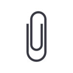 Image of a paperclip.